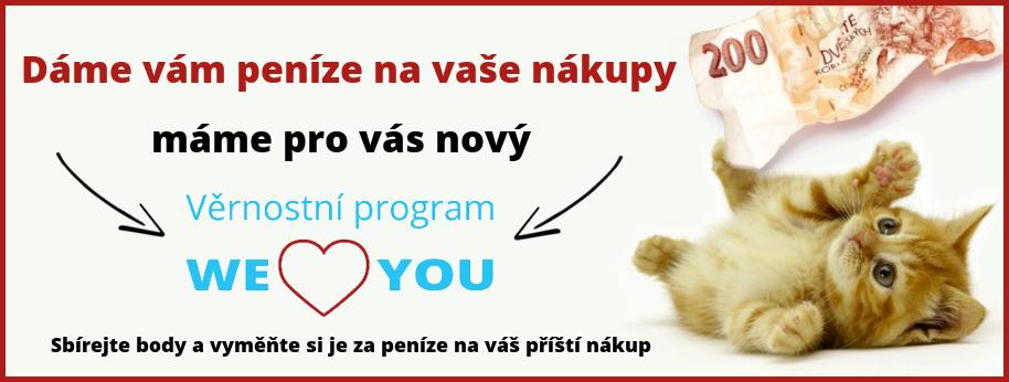 Nový věrnostní program WE LOVE YOU