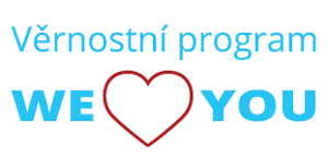 Věrnostní program WE LOVE YOU