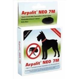Arpalit Neo 7M obojek antiparazitární Černý 66cm pes