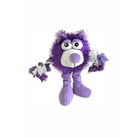 Hračka pes Trio Monster Friend fialový plyš 21cm