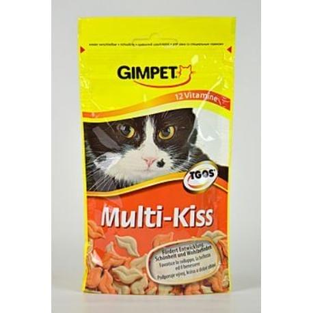 Gimpet kočka Pusinky s vitamíny Multi-Kiss 50g