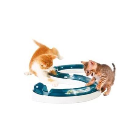 Hračka mačka Guľodráha s loptičkou CATIT plast 1ks
