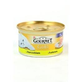 Gourmet Gold konz. kočka jemná paštika s kuř.masem 85g