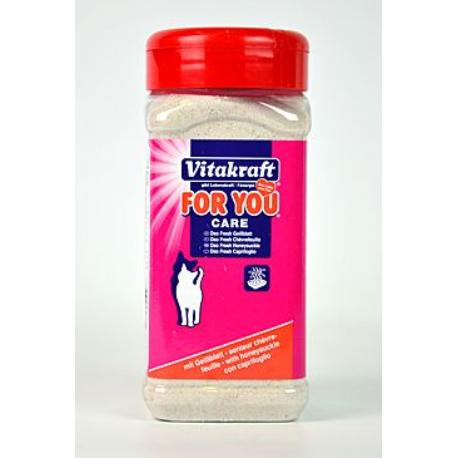 Vitakraft Cat For you Deo Fresh Meduňka grn. 720g