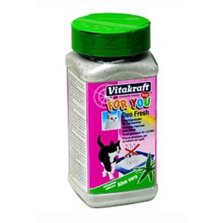 Vitakraft Cat For you Deo Fresh Aloe Vera grn. 720g