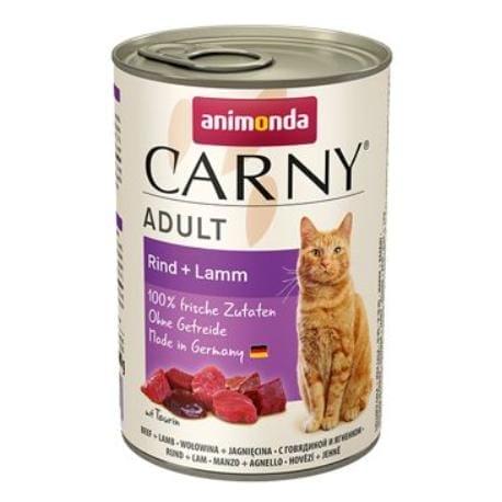 Animonda konz. mačka Adult hovädzie/jahňacie 400g