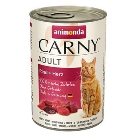Animonda konz. mačka Adult hovädzie srdce 400g