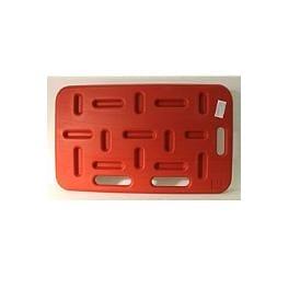 Deska naháněcí pro dobytek 48x76cm  (červená) Kruuse