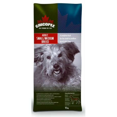 Chicopee pes Dry Adult Small/Medium Breed 15kg