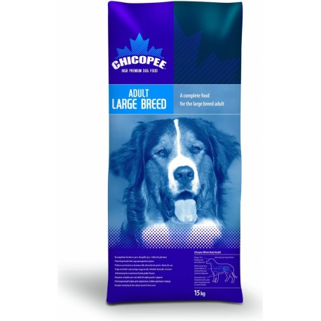 Chicopee pes Dry Adult Large Breed 15kg