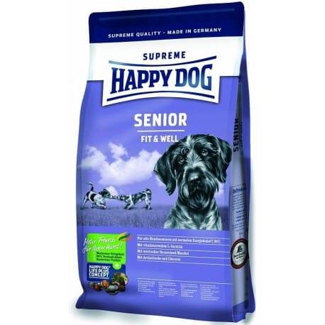 Happy Dog Supreme Adult Fit&Well Senior 4kg