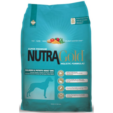 Nutra Gold Salmon&Potato 15kg