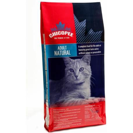 Chicopee kočka Dry Adult Natural 2kg