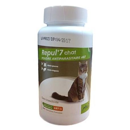Repelentní pudr Repul 7 pro kočky 150g