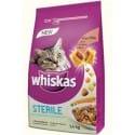Whiskas Dry s kuřecím masem 1,4kg STERILE