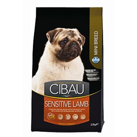 CIBAU Dog Adult Sensitive Lamb&Rice Mini 2,5kg