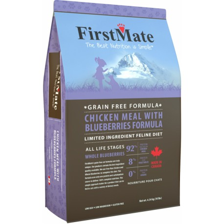 First Mate Cat Chicken Meal&Blueberries 1,8kg