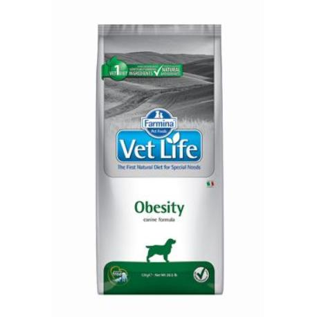 Vet Life Natural DOG Obesity 12kg