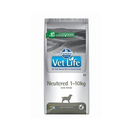 Vet Life Natural DOG Neutered 1-10kg 2kg