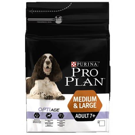ProPlan Dog Adult 7+ Medium&Large   3kg
