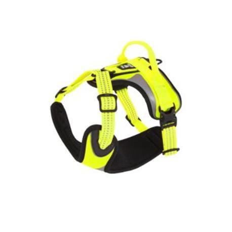 Postroj Hurtta Lifeguard Dazzle 80-100cm žlutý