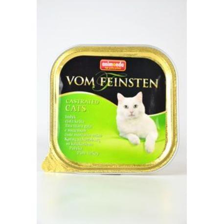 Animonda paštika pro Kastráty - krůta kočka 100g