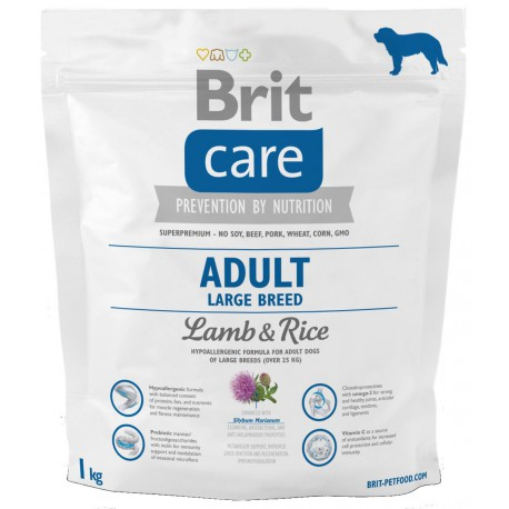Brit Care Dog Adult Large Breed Lamb & Rice 1kg