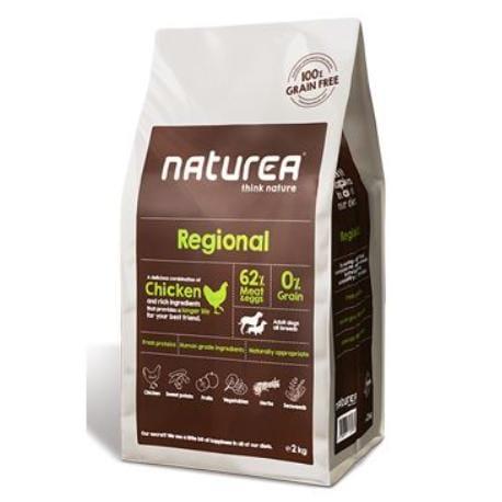 Naturea GF dog Regional - Adult all breeds 2kg
