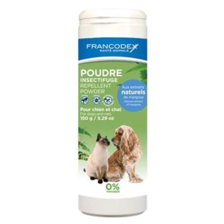 Francodex Pudr repelentní pes, kočka 150g