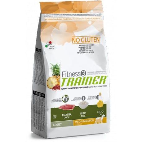 Trainer Fitness Adult M/M No Gluten Duck Rice12,5kg