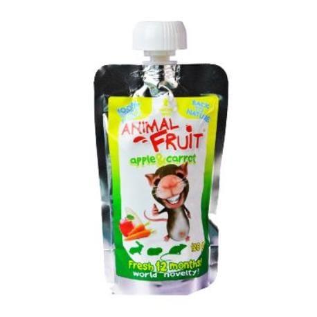 ANIMAL FRUIT kaps.Jablko + Mrkev hlodavec 120g Syrio