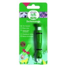 Kleště na klíšťata plast zelené KAR 1ks