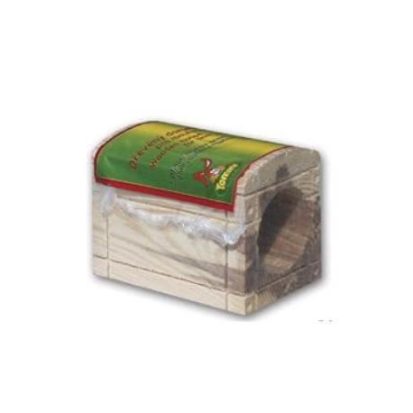 Domeček dřevěný pro hlodavce truhla
