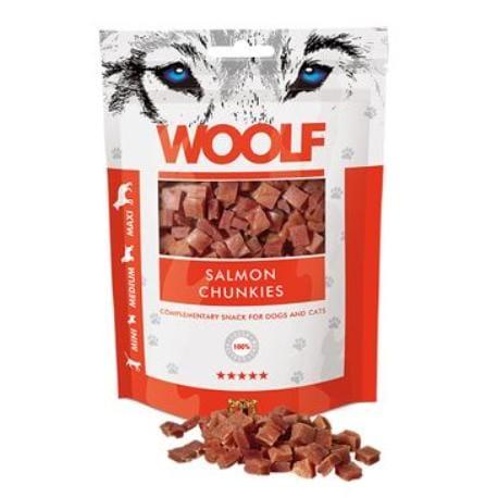 WOOLF pochoutka salmon chunkies