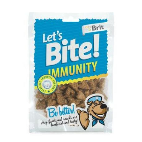 Brit pochoutka Let's Bite Immunity 150g NEW