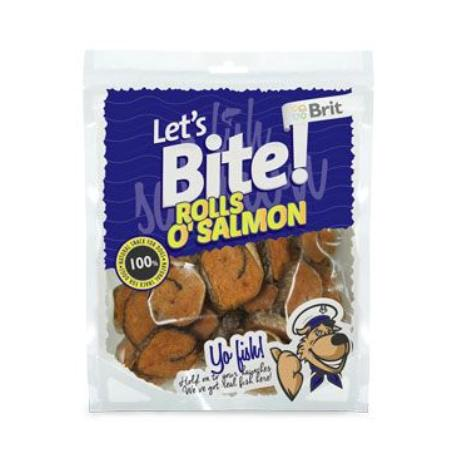 Brit pochoutka Let's Bite Rolls o'Salmon 400g NEW