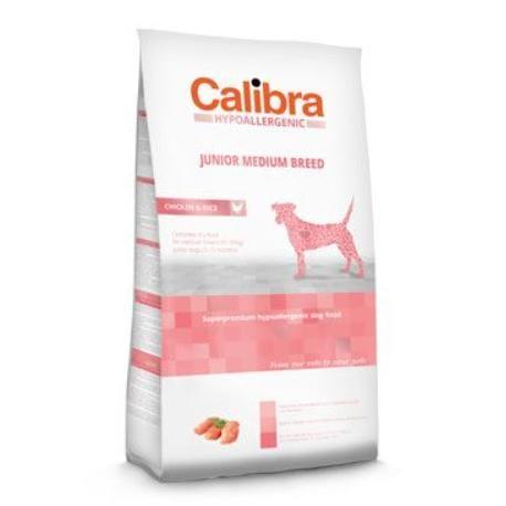 Calibra Dog HA Junior Medium Breed Chicken  3kg NEW