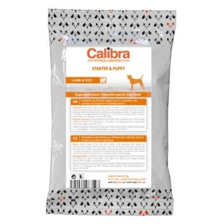 Calibra Dog HA Starter & Puppy Lamb80g-vzorek NEW