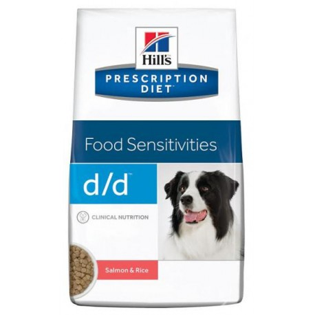 Hill's Can. D/D Dry Salmon&Rice 12kg