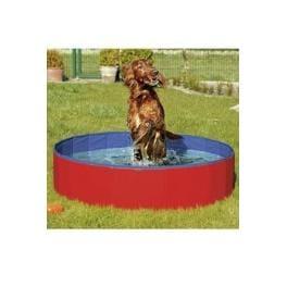 Bazén sklád. nylon pes 120x30cm blue/red KAR 1ks
