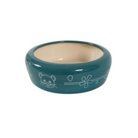 Miska keramická pes 700ml modrá Zolux