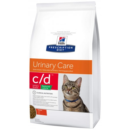 Hill's Fel. C/D Dry Urinary Stress Red. Calorie 8kg