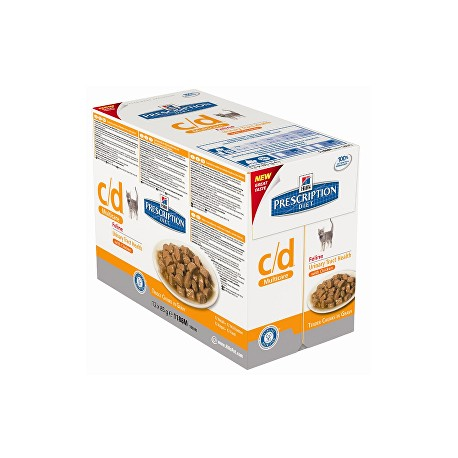 Hill's Fel. C/D kapsa MultiCare Chicken 12x85g