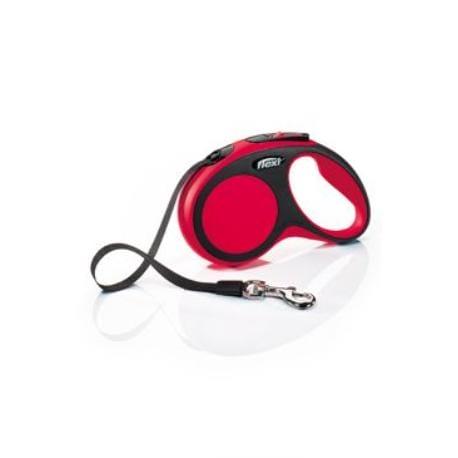 Vodítko flexi Comfort S pásek 5m/15kg červená