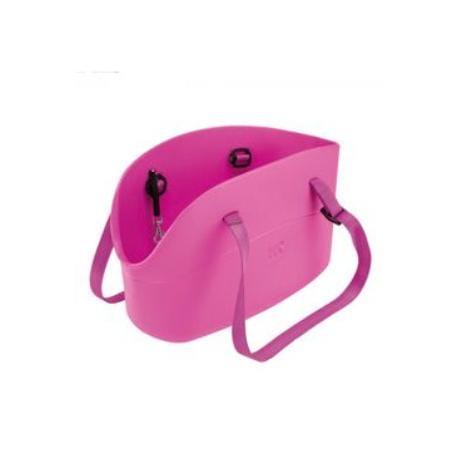 Taška cestovní Plast WithMe 43,5x21,5x27cm růžová 1ks