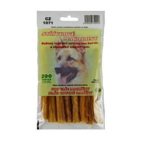 Pochoutka pes sušená Střívkové makarony 12cm 8ks