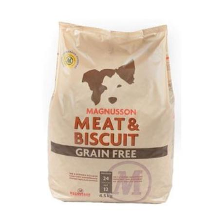 Magnusson Meat&Biscuit Grain Free 4,5kg