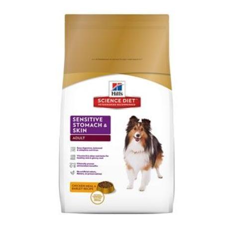 Hill's Canine Dry Sensitive Stomach Skin s kuřetem12kg