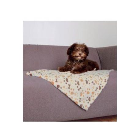 Deka pro psy LINGO bílo/béžová 50x75cm TR