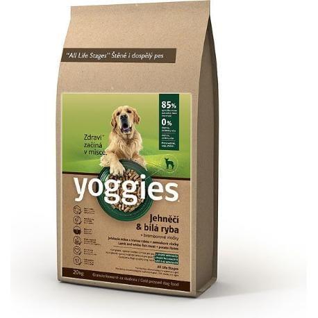 Yoggies 20kg jehněčí a bílá ryba
